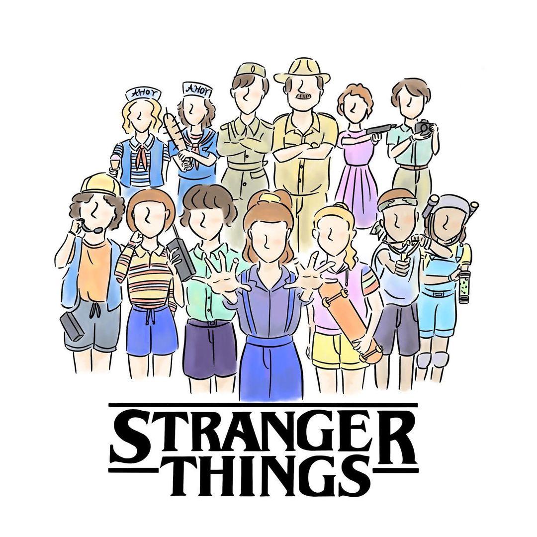 ストレンジャーシングス1.2.3